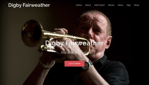 Image of Digby Fairweather website
